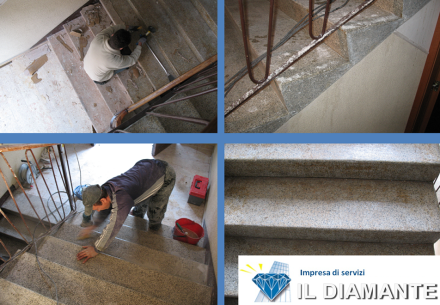 Levigatura e lucidatura pavimenti - Il Diamante sas